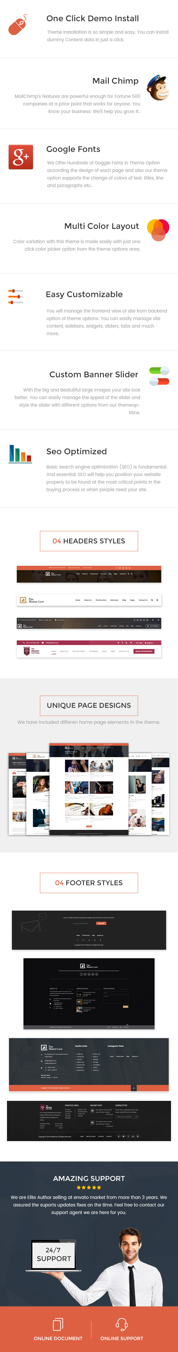 Law Base Agency Corporate & Business WordPress